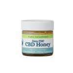 Zero THC CBD Honey, Highly Concentrated; 20 ml Honey Containing 200 mg CBD per ml, 4000 mg (4 grams) per jar